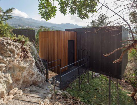 <p>Cubos de diseño sostenible se reparten en una parcela de 84.000 m2.</p>