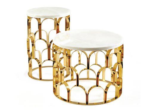 <p>El dorado cotiza al alza en el mundo del diseño. ¿La prueba? La mesa Ananaz, de Ginger & jagger. ¡Deslumbrante!</p>