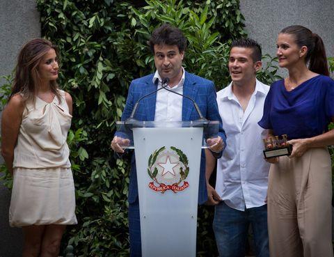 <p>Y el galardón a la mayor Difusión de la Cocina fue para el programa de MasterChef. Recogieron el premio <strong>Samantha Vallejo-Najera, Pepe RodríGuez y Carlos Maldonado</strong>. &nbsp;</p>