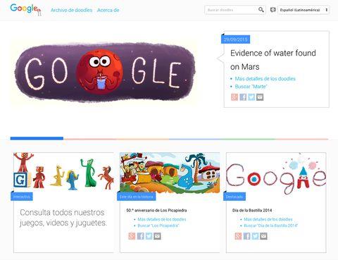<p>Este truco quizás es más conocido, pero siempre mola recordarlo: si al entrar en Google, sin introducir ningún término, pulsas 'Voy a tener suerte', irás a la colección completa de doodles.</p>