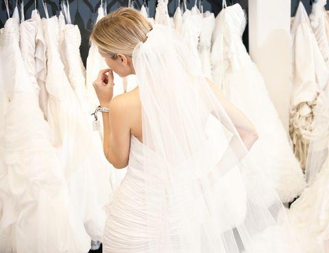 <p>A la hora de elegir el vestido de novia, las españolas visitan de 3 a 5 tiendas especializadas y se prueban de 10 a 19 vestidos antes de decidirse.</p>