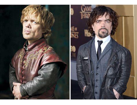 <p>Varios cambios para uno de los protagonistas de la serie: color de cabello, peinado, una perilla más abundante en la vida real y, claro está, el vestuario.</p>