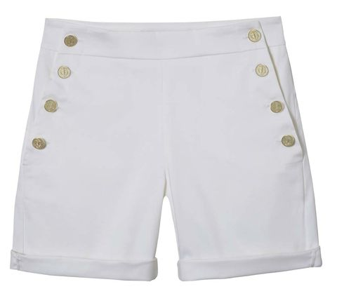 <p>Shorts retro con botonadura dorada, de <strong>Max Mara</strong> (249 €).</p><p>&nbsp;</p>