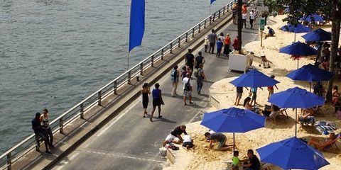 Nueve playas artificiales en Europa