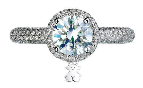 <p>En oro blanco y diamantes (desde 574 €) de <strong>Tous</strong></p>