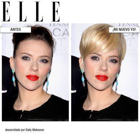 <p>¿Cómo le quedaría a Scarlett Johansson el último corte de pelo de Anne Hathaway? Este es el resultado.</p>