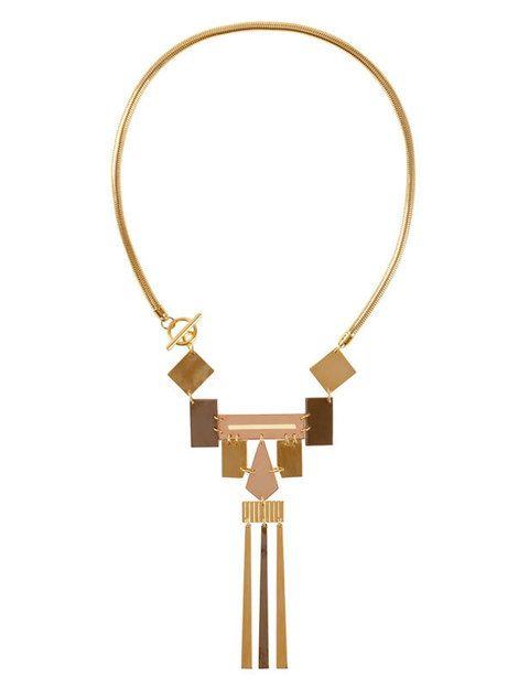<p>Este collar forma parte de una mini-colección de edición limitada, fabricada en Italia, e inspirada en África y pensada de forma especial para la mujer. El resultado es una mezcla perfecta entre la contemporaneidad de la marca y el estilo de vanguardia de <strong>Coliac.</strong></p>