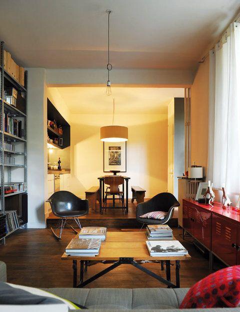 <p>La mesa de centro con aspecto industrial de Atelier 154.</p>