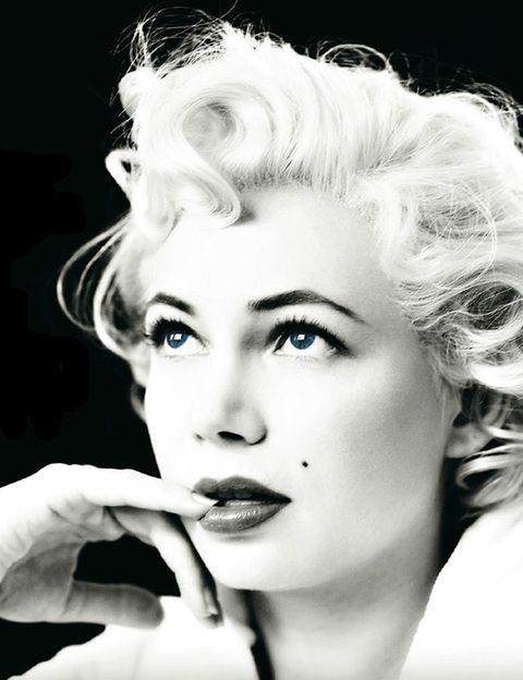<p>Su caracterización como Marilyn Monroe pone los pelos de punta por su gran parecido con la verdadera tentación rubia.</p>