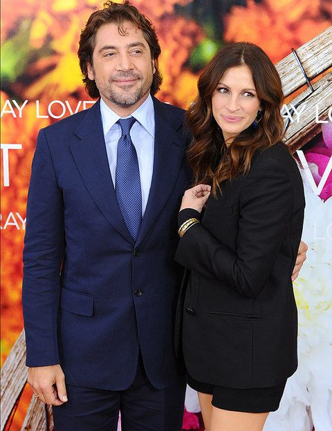 <p>En 2010 el actor español estrenó con Julia Roberts la película <i>Come, reza, ama.</i> Entre ambos hubo una química especial.</p>