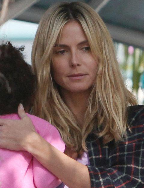 <p>Por algo es una de las tops más importantes en el mundo de la moda. En el parque con su hijos<strong> Heidi Klum</strong>se muestra 100% natural y nos gusta porque está igual de bella que cuando está sobre la pasarela. </p>