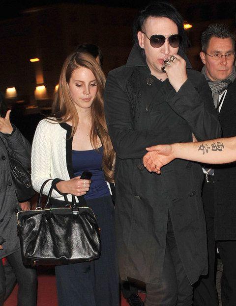 Lana del Rey Marilyn Manson