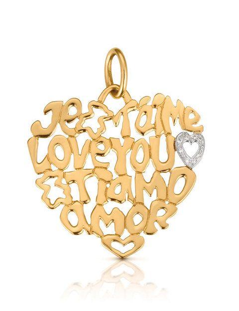 <p>Colgante en oro amarillo de <strong>Tous</strong>.</p>