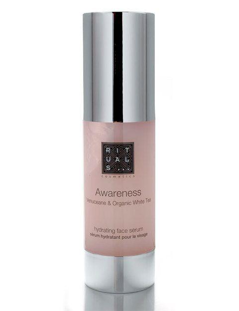 <p><i>Awareness Face Serum </i>(29, 90 €), de <strong>Rituals</strong>. Hidratante intensivo para todo tipo de pieles.</p>