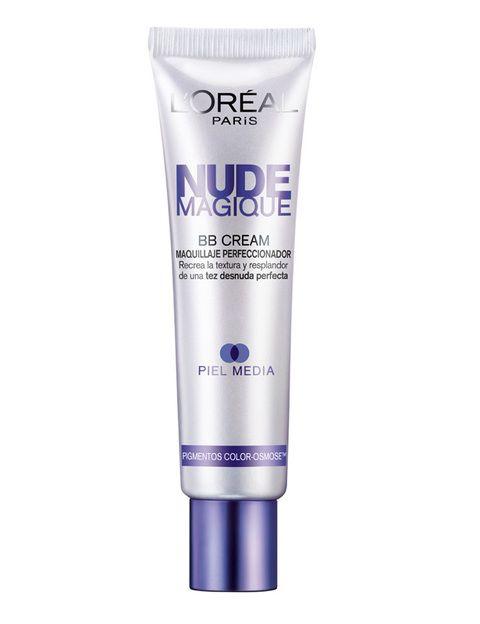 <p><i>Nude Magique</i><i>BB Cream</i> (9,95 €), de<strong> L'Oreal</strong>. Crema que se transforma en maquillaje en contacto con la piel.&nbsp; Embellece y unifica la piel con una cobertura ligera. Con SPF 12 y disponible en dos tonos.</p>