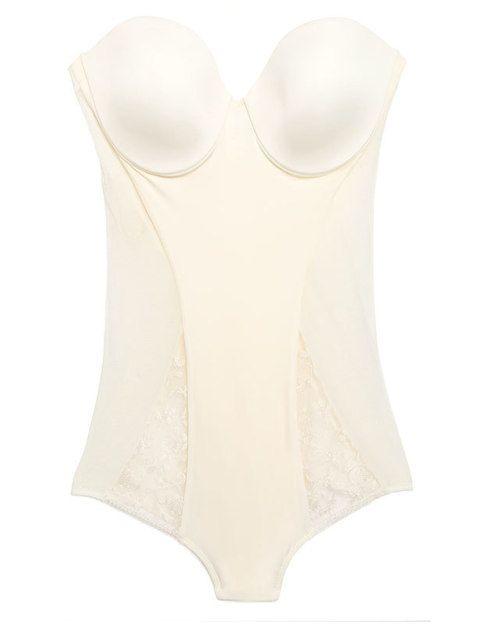 <p>Body sin tirantes (79,50 €) de <strong>Gemma</strong>.</p>
