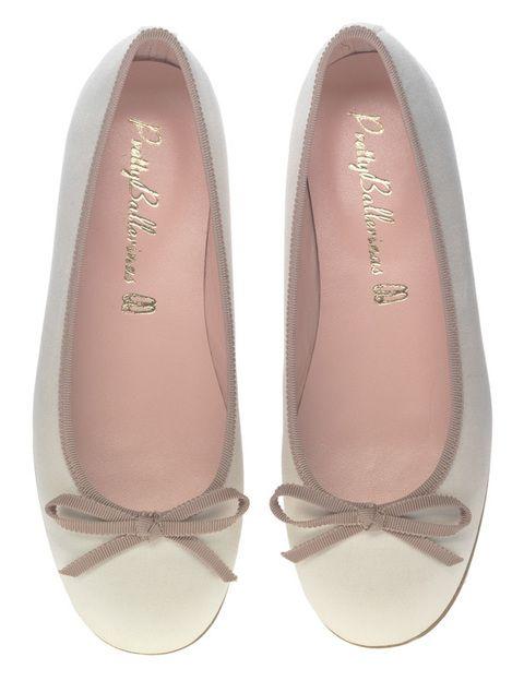 <p>Bailarinas nude (160 €) de <strong>Pretty Ballerinas</strong>.</p>