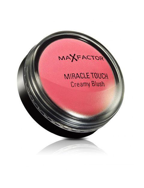 <p><strong>'Miracle touch' de Max Factor </strong>es uno de nuestros imprescindibles, tiene un tono que da un color fresco a las mejillas y se puede usar para dar color a los labios. Un 10.</p>
