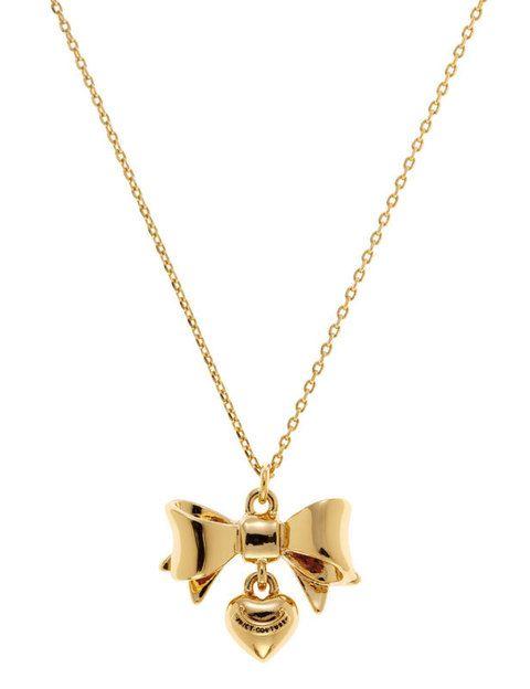 <p>Colgante con forma de corazón (60 €) de <strong>Juicy Couture</strong>.</p>