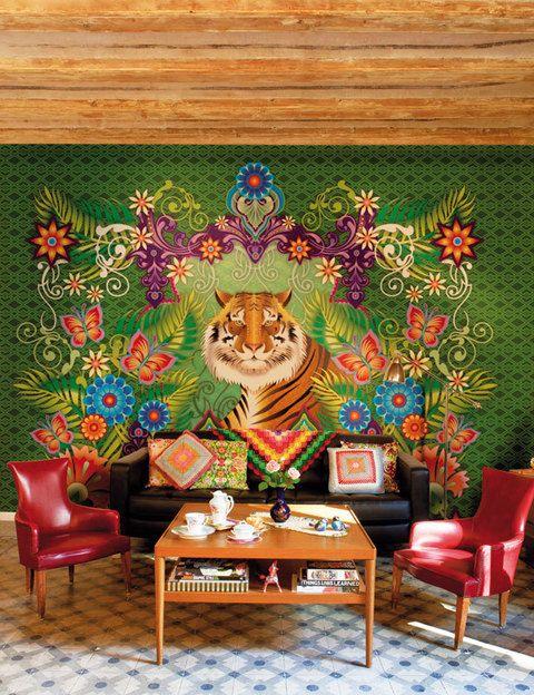 <p>Sucumbimos ante el color tropical de los papeles de la ilustradora Catalina Estrada para Coordonné. ¡Divinos! </p>