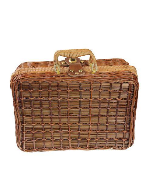 <p>Bolso-maleta de tejido natural.</p>