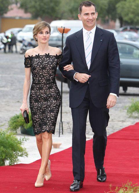 <p>Los Príncipes de Asturias acudieron a la cena de gala organizada por el Presidente de Portugal con motivo de su visita de tres días al país vecino.</p>