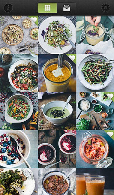 <p>Miranda es fan de la comida vegetariana, y esta app es un filón de recetas orgánicas y deliciosas. Priman los ingredientes naturales, evitando el gluten, el azúcar y los lácteos. ¿El precio? 4,49 €.</p>