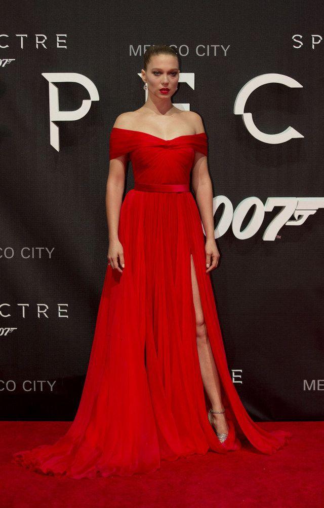Y Rojo Sexy SeydouxElegante Lea De yIfvY76gb