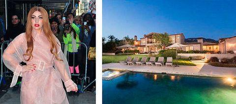 """<p>La provocadora cantante se gastó casi 21 millones de € en su<a href=""""http://www.elledecor.com/celebrity-style/celebrity-homes/news/a2513/lady-gagas-new-malibu-mansion-bowling-alley/"""" target=""""_blank""""> casa de estilo europeo</a> en Malibú. Cuenta con 5 dormitorios, 7 baños... ¡y hasta bolera!</p>"""