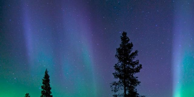 Tras la aurora noruega
