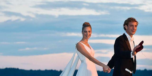 La boda de Pierre y Beatrice en imágenes