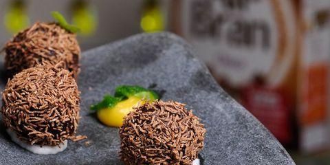 mini cocos de cerales