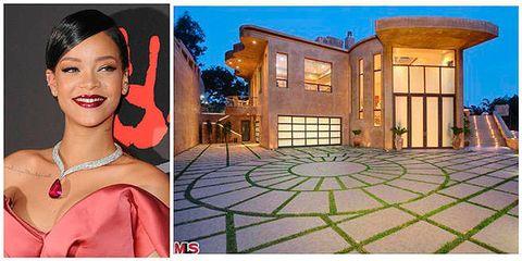 """<p>Se llamará a sí misma Bad Gal RiRi, pero Rihanna no estaba a gusto (inexplicablemente) en esta casa. ¿La razón? Los múltiples intrusos y acosadores que arrestó la policía en los alrededores. Por eso, puso a la venta su <a href=""""http://www.trulia.com/blog/celebrity-homes/rihanna-selling-home/"""" target=""""_blank"""">casa de Pacific Palisades,</a> California, por casi 14.000 millones de €.</p>"""