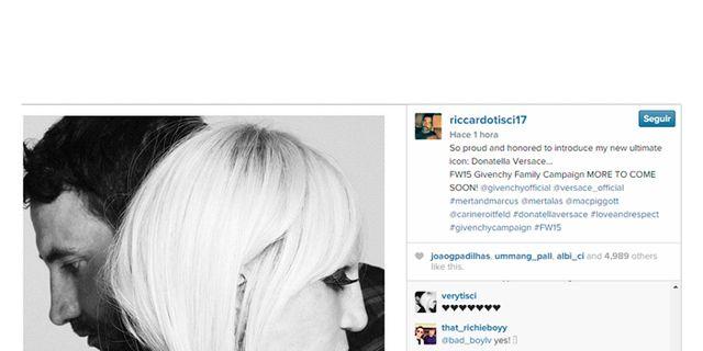 Donatella, imagen de Givenchy
