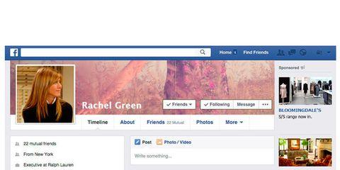 Las redes sociales en tiempos de Friends