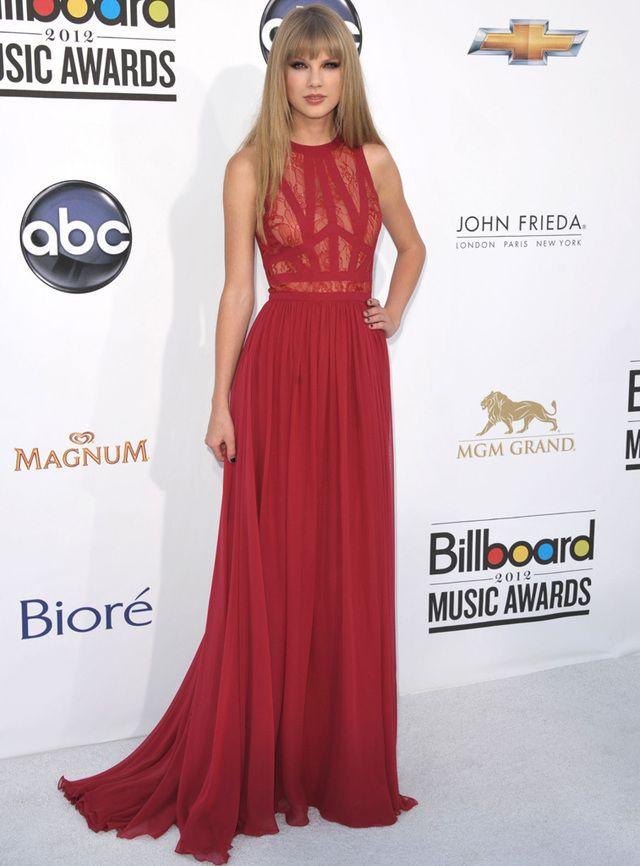 Vestido rojo para la noche