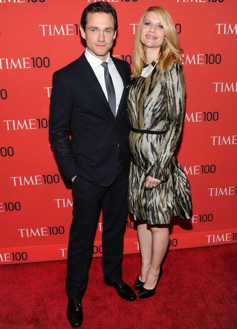 <p>La actriz acudió a la fiesta del brazo de su marido, el también actor <strong>Hugh Dancy</strong>.</p>