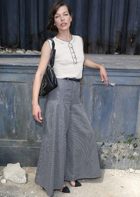 16d7fe56c La nueva falda pantalón de las celebrities