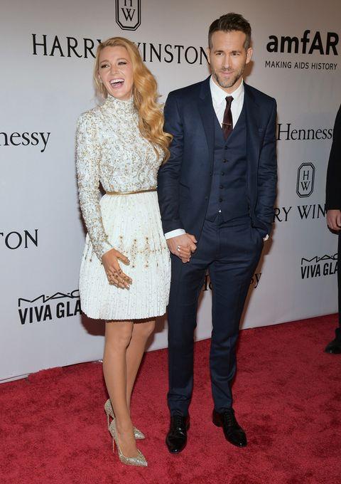 <p>El matrimonio formado por<strong>Blake Lively y Ryan Reynolds</strong> no faltaron a la gala.</p>