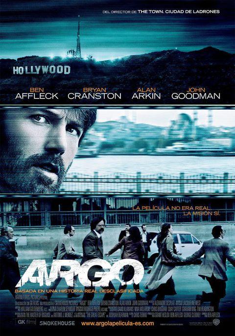 <p>El último trabajo de Ben Affleck tras la cámara (también delante de ella), viene precedido de muy buenas críticas. Argo está basada en una historia real, que permaneció silenciada durante muchos años. La CIA urdió un complicadísimo y arriesgado plan para liberar a seis rehenes tras el secuestro de la embajada de Estados Unidos en Teherán.</p>