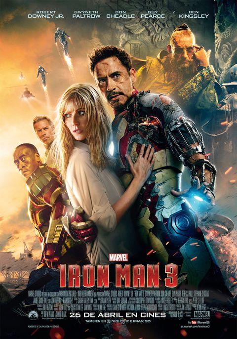 <p>En esta ocasión, Robert Downey Jr. (<i>Iron Man</i> para los amigos de la saga), tendrá que luchar contra el malvado Aldrich Killian (Guy Pearce) que está llevando a cabo experimentos biológicos para intentar perfeccionar a los seres humanos.</p>