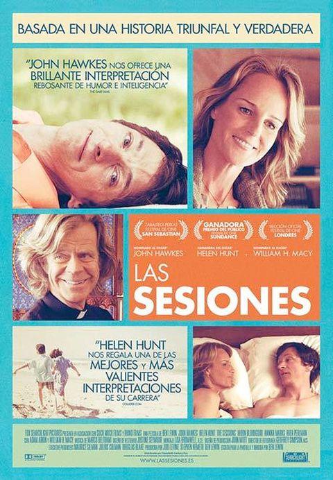 <p>Tras ganar los premios del público en los festivales de Sundance y San Sebastián, Helen Hunt y su 'hit indie' de amor, 'Las sesiones', aterrizan el 11 de enero en los cines españoles. Seguro que dará que hablar.</p>