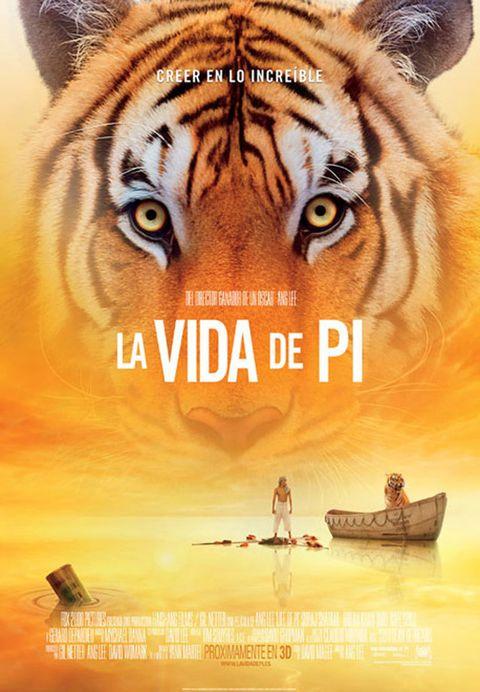 <p>El joven Pi vive en La India con su familia, que es dueña de un zoo. Deciden mudarse a Canadá, pero el barco en el que viajan naufraga y Pi se ve obligado a compartir bote con un tigre, un orangután, una hiena y una cebra. A partir de ese momento, su vida se convierte en una aventura en la que se juega la vida. Ang Lee está dirige una de las películas más esperadas del año.</p>