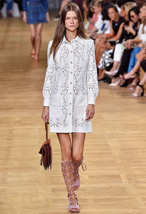 <p>Diseñador: Chloé. <strong>Paris Fashion Week.</strong></p>