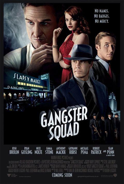 <p>Ryan Gosling, Josh Brolin, Emma Stone, Sean Penn… ¿necesitas más motivos para verla? Si la respuesta es sí, te contamos que es la historia de un mafioso (Penn) que tiene negocios sucios en Los Ángeles. Pero un par de inquietos policías (Gosling y Brolin) están dispuestos a desmontarle su turbio chiringuito.</p>