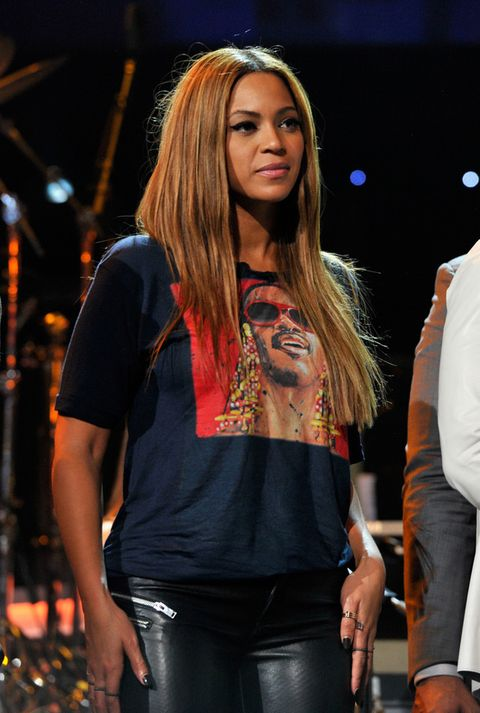 <p>Beyoncé tiene millones de seguidores en todo el mundo pero ella también tiene sus propios referentes en el mundo de la música. Uno de ellos es <strong>Stevie Wonder</strong>.</p>