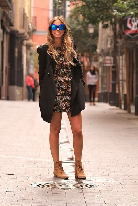 <p>Aranza García es blogger de moda. Nos la encontramos de camino a la presentación de una conocida marca de calzado.</p>
