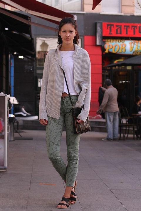 <p>Tasha nos demuestra que no necesitas disfrazarte para salir a la calle.&nbsp;</p>