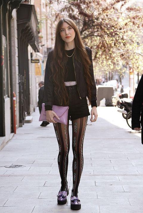 <p>Nerea apuesta por unos shorts de talle alto de Topshop. Los lleva con una cazadora negra de Vero Moda.&nbsp&#x3B;</p>