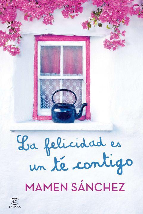 <p>El título de la nueva novela de Mamen Sánchez lo dice todo: <strong>La felicidad es un té contigo</strong> (Espasa). Una lectura, entre la comedia de enredo y el thriller, para bebérsela de un trago. Pura alegría. </p>